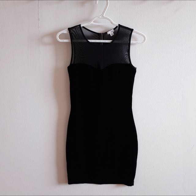 GARAGE Velvet Dress *New