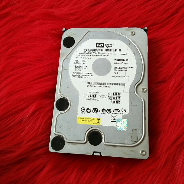 Hardisk WD IDE / PATA 400 GB
