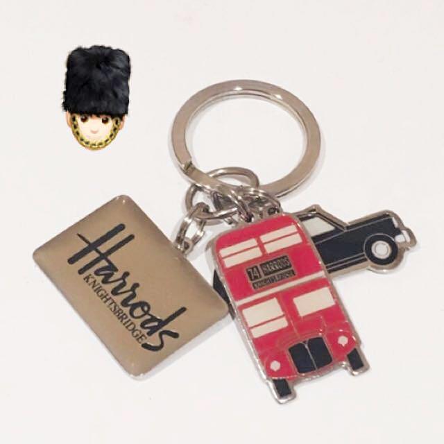 Harrods Keychain 💂♀️💂♀️💂♀️