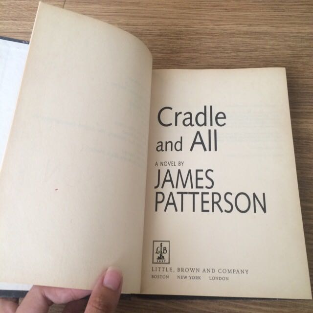 "Hardbound: James Patterson's ""Cradle and All"""