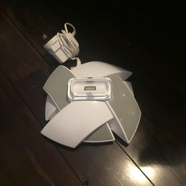 JBL White Speaker
