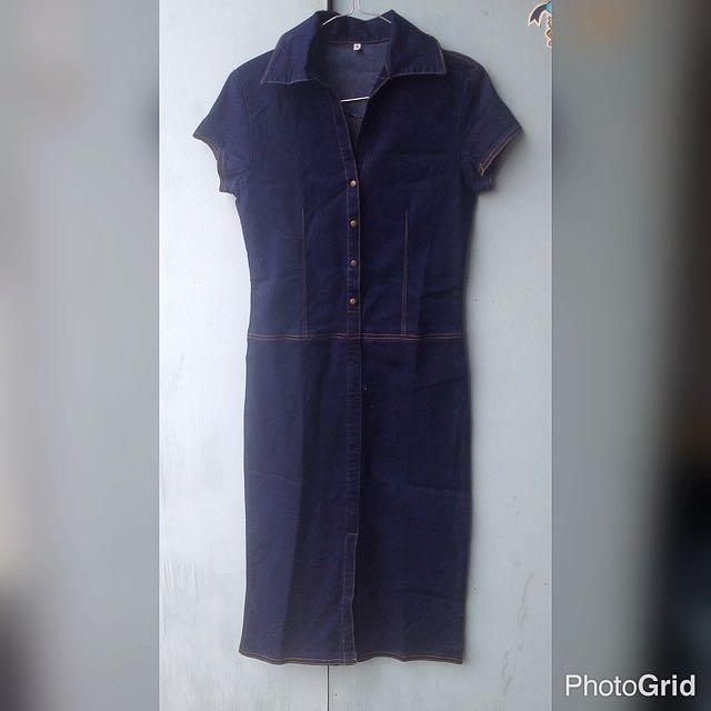 Jeans Midi Dress