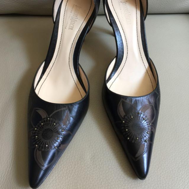 Joanne Mercer Black High Heels