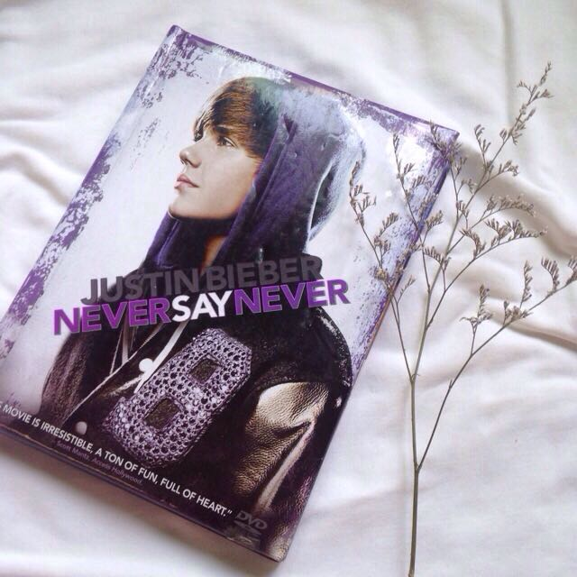Justin Bieber: Never Say Never DVD