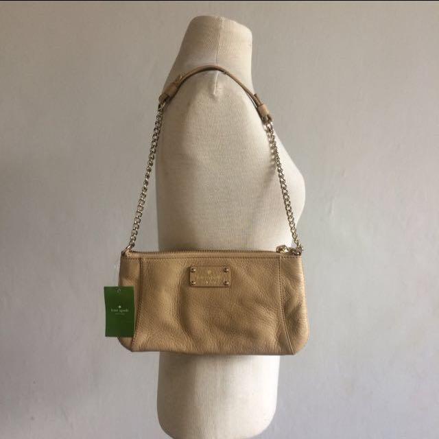 Kate Spade Adela Berkshire Road Leather Shoulder Bag