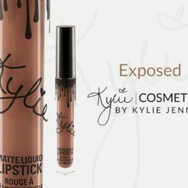 Kylie Lipstick In Exposed (AUTHENTIC)