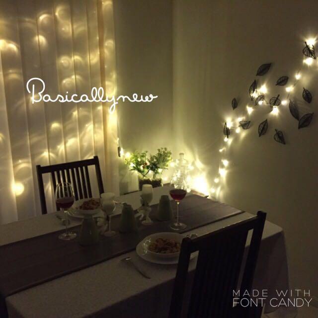 Termurah lampu natal tahun baru new year led tumblr for Dekor kamar hotel buat ulang tahun