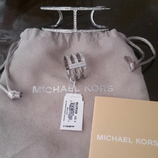 Michael Kors Bangle & Ring Set