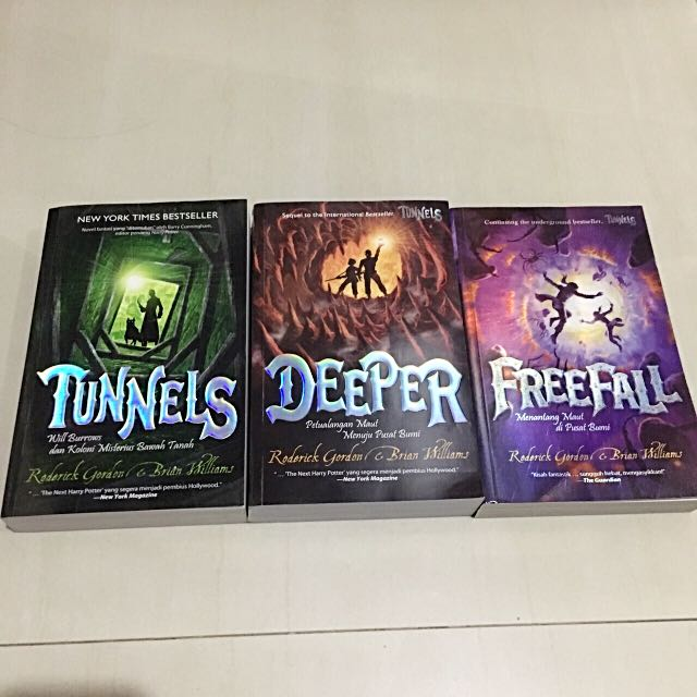 Novel Tunnel (vol 1,2,3) Set