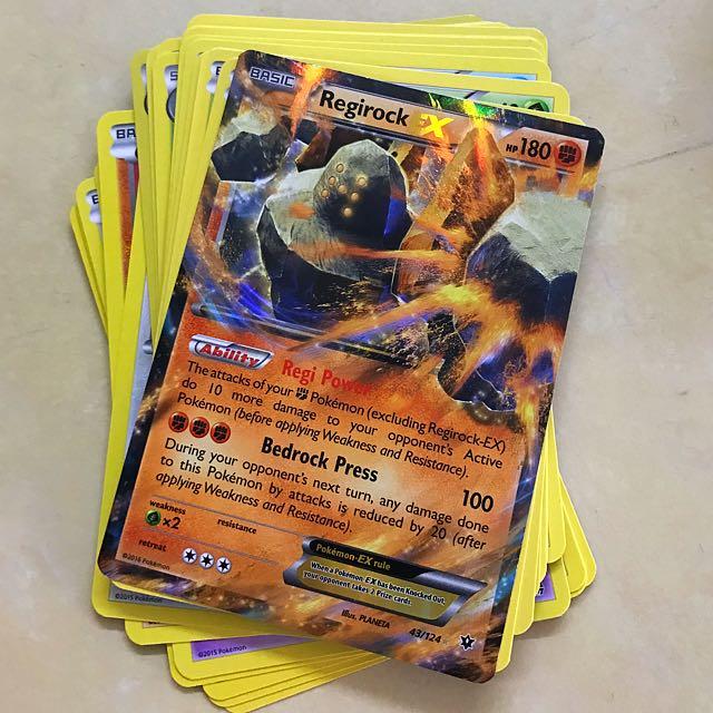 Pokemon Cards x 21. 1 EX Card