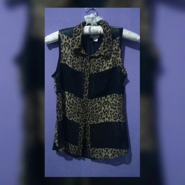 Preloved Cotton In Leopard