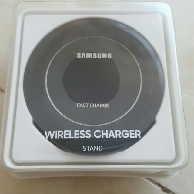 Samsung Wireless Charger Stand, OEM (Hitam)