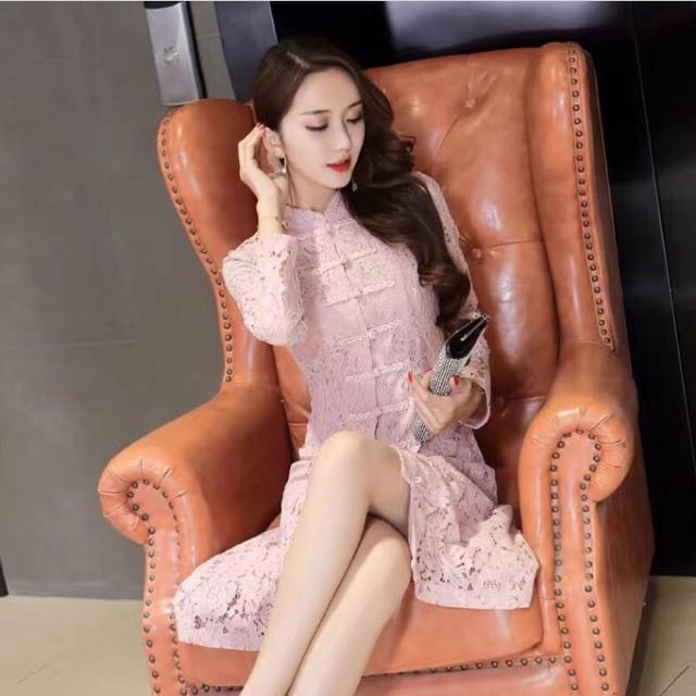 Shanghai Dress Pink