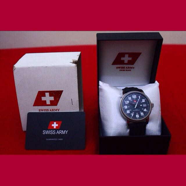 Jam Tangan Swiss Army 91237G-61 Black