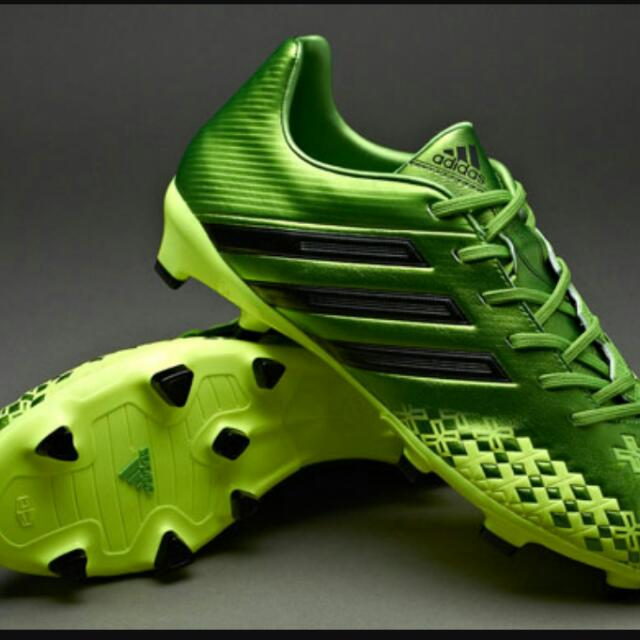 7a81db1c80a germany adidas predator studs 5fd14 65bda  cheap used adidas predator lz 2 green  boots sports sports games equipment on carousell 08d88 36aa4