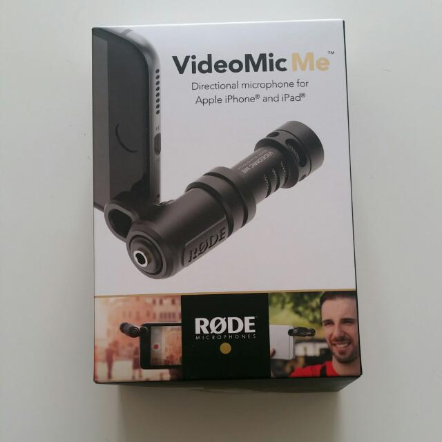 VideoMicMe Rode Microphone for iphone and Ipad