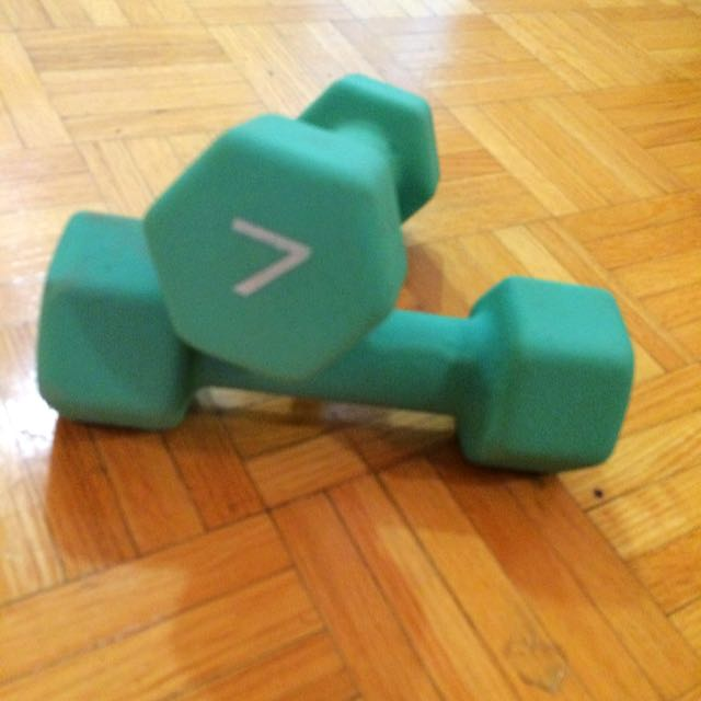 Weights And Free Yoga Mat