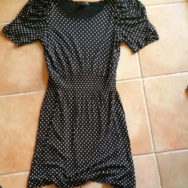 Xcepsion Polka Dot Dress