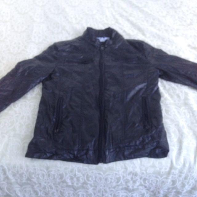 Zara Men's Lether Jacket