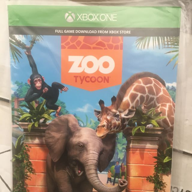 Zoo Tycoon - XBOX ONE GAME