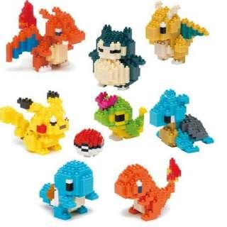 Pokemon Building Block