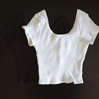 Ribbed Crop Tops Bundle