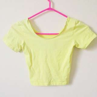 Crop Top American Apparel