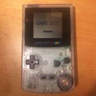 Nintendo Gameboy Color (Clear) colour - 30 Day Warranty!