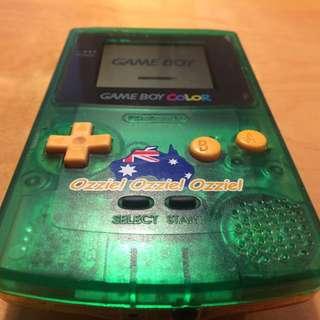 Nintendo Gameboy Color Colour Aussie Ozzie Limited Edition - VGC