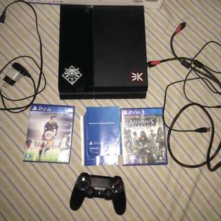 Playstation 4 / Ps4 Jetblack 1106a CUH mulus