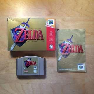 Zelda Ocarina of Time - Complete in Box (Nintendo 64, N64) AUS PAL