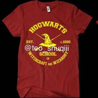 [PO] NEW Instock: Hogwarts Wizard Hat Harry Potter T-Shirt!!! POPULAR Demand!
