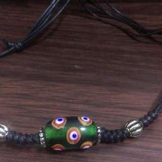 【原住民傳統項鏈】孔雀之珠