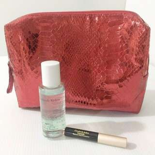 ❤️ Elizabeth Arden Make Up Set With Red Sequin Pouch