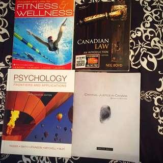 1st Year Justice Studies Textbooks