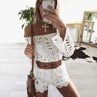 WhiteFox Boutique Romper