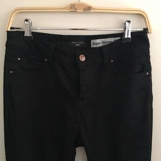 New Look - Black Super skinny Jeans Size U.K. 10