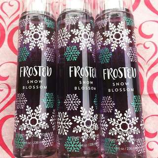 BBW FROSTED SNOW BLOSSOM MIST