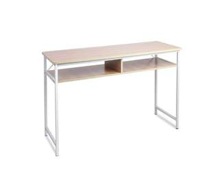 Study Work Desk Natural Wood – 77CM