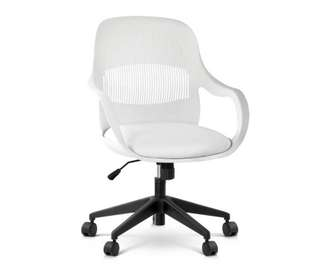 Modern Office Desk Chair - White
