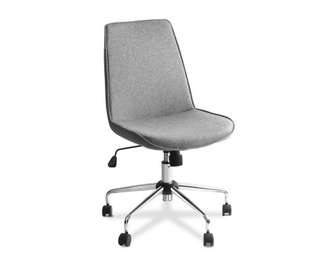 Modern Office Desk Fabric Chair – Grey