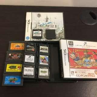 GBA DS 遊戲片 全部1000