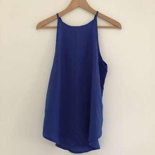 Blue Singlet/ Top