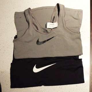 Nike Workout Tanks (set of 2) - Black And Grey
