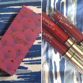 ON HAND Colourpop Fall Edit Bundle - Can You Knot