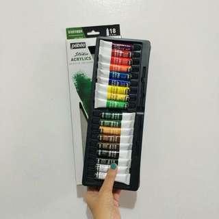 Pēbēo Studio Acrylics 18 Tubes x 12ml