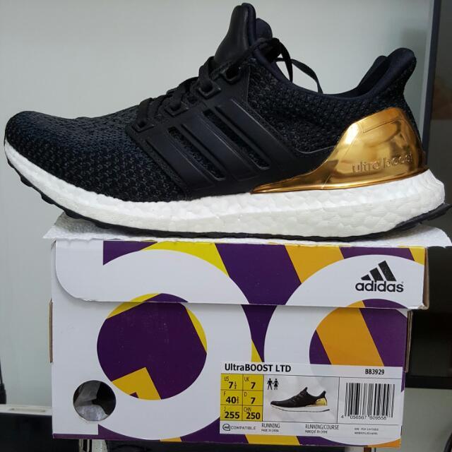 Great Adidas Ultraboost LTD Shoes Core Black / Iron Metallic