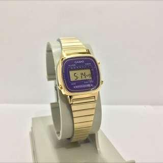 Casio Vintage Gold Small Watch LA670GVF