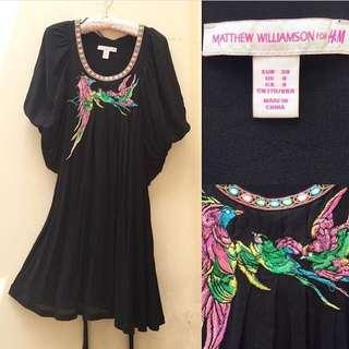 H&M BLACK DRESS SIZE 38