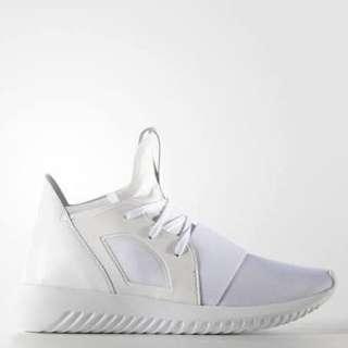 Adidas Originals White Tubular Sneaker Size 38
